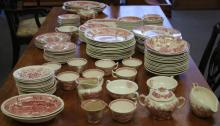 LOT OF STAFFORDSHIRE PORCELAIN DINNER CHINA