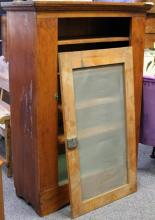 EARLY AMERICAN CHERRY STORAGE CABINET