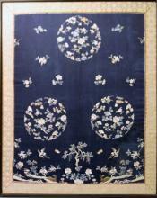 CHINESE SILK EMBROIDERY, QING DYNASTY