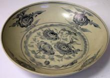 CHINESE PORCELAIN B&W BOWL