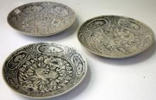SET OF (3) CHINESE MING DYNASTY BOWLS