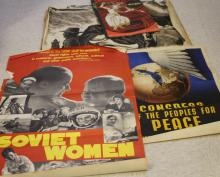 LOT OF (24) MID-20TH CENTURY POLITICAL POSTERS