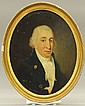LATE 18TH CENTURY OIL ON BOARD             PORTRAIT             Plaque- Sir Joshua Reynolds             sight- 11 1/4