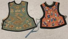 LOT OF (2) EARLY CHINESE CHILD'S ROBES