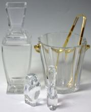 LOT OF (4) BACCARAT CRYSTAL FIGURAL ART GLASS