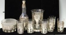 SHREVE & CO. STERLING 14TH CENTURY PATTERN SET