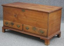 AMERICAN WALNUT BLANKET CHEST