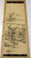 VINTAGE CHINESE PAINTED SCROLL