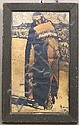 MAYNARD DIXON, PRINT OF INDIAN dated 1902 sight:, Edith Anne Hamlin, Click for value