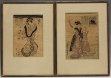 LOT OF (4) 19TH CENTURY JAPANESE WOODBLOCK PRINTS