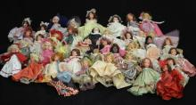 GROUP OF (40) VINTAGE STORY BOOK DOLLS