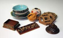 LOT OF (10) CHINESE DECORATIVE