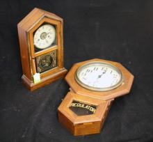LOT OF (2) EARLY 20TH CENTURY CLOCKS