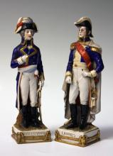 PAIR OF VINTAGE FRENCH PORCELAIN FIGURES