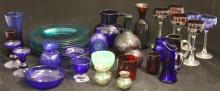COLORED GLASS AND CRYSTAL