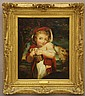 OIL ON BOARD (1769- 1859) Title- Little Red Riding Hood sight- 23