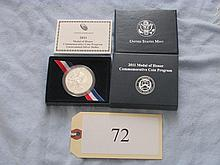 2001 Medal of Honor silver commem coin