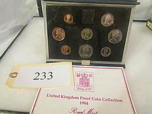 1984 United Kingsdom Proof Coin