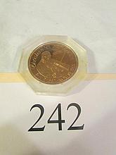 Christian Sanderson Commerative coin