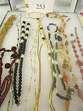 lot of costume necklaces &