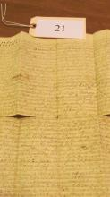 Indenture/Deed 1756 Chester County PA