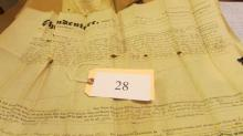deed 1848, Bucks County PA