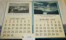 3 House of Representatives Congress Calendars