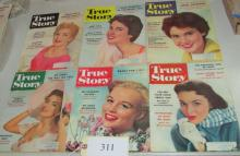 set of 12 issues of 1957