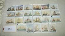 25 cigarette card set