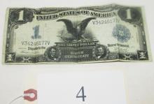 1899 Black Eagle silver certificate