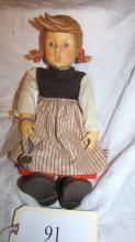 Birthday Serenade Girl Hummel Doll