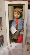 Birthday Serenade Boy Porcelain Doll