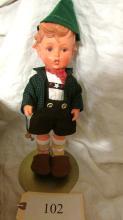 Hansel Goebel Hummel Vinyl Doll