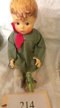 Friend or Foe Doll Grasshopper on Shoe