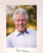 Bill Clinton Signed Photograph