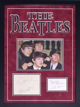 The Beatles Autograph Set