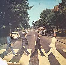 Paul McCartney Signed 'Abbey Road' 12