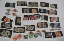 Collection of Russian Tannu Tuva Post Stamps