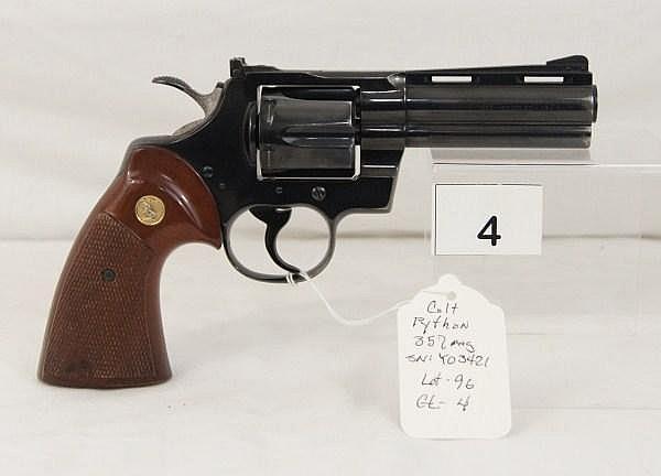Colt Python, Revolver, .357 MAG
