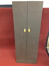 Old metal Wardrobe cabinet
