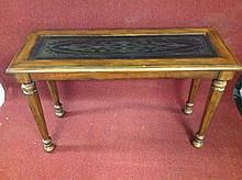 Modern Mahogany Sofa Table