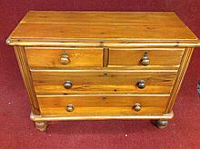 Old Pine 4 Draw Dresser