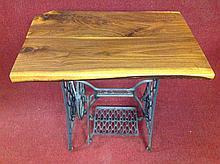 Old Primitive Singer Table