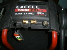 HONDA EXCELL 2600 PSI 2.5GPM PRESSURE WASHER