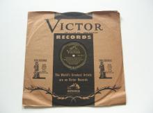 "Django Reinhardt & Stephane Grappelly 78 RPM Record on VICTOR ""Crazy Rhythm"""
