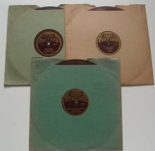 (3) 1920's Jazz / Dance Band 78 RPM Records on the PERFECT Label – Sam Lanin, Roy Smeck, Etc...