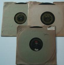 (3) 1920's Jazz / Dance Band 78 RPM Records on the PATHE Label – The Virginia Creepers, Lenox Dance Orch, Etc...