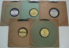 (5) 1920's Jazz 78 RPM Records on (Reissue) Labels  - Jelly Roll Morton, Fletcher Henderson, Etc...