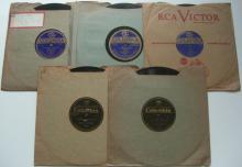 (5) 1920's Jazz / Dance Band 78 RPM Records on the COLUMBIA Label – California Ramblers...