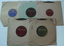 (5) 1920's Jazz / Dance Band 78 RPM Records on the HARMONY, BANNER & BROADWAY